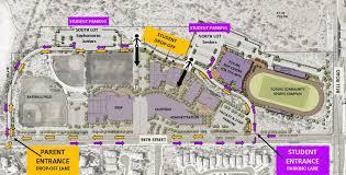 University Of Arizona Parking Map by Notre Dame Preparatory Visit Campus