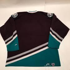 Mighty Ducks Flag Topnotch Vintage Mighty Ducks Jersey Pro Player Xl