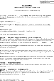 doc 728942 construction agreement template u2013 25 best ideas about