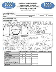 libro texto matematicas sexto grado ciclo 2015 2016 examen final para el sexto grado del ciclo escolar 2014 2015