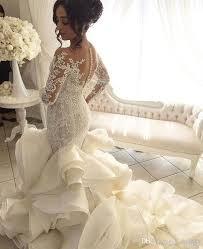 custom wedding dress 2017 vintage luxury big gown satin wedding dress v