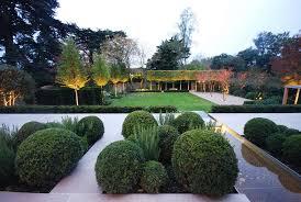 garden light design ideas landscape contemporary with tree