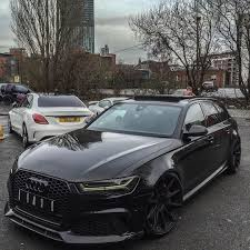 audi wagon black tuning shops on twitter