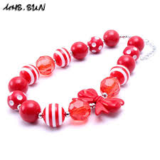 red big necklace images 2018 mhs sun red color christmas baby kid chunky necklace fashion jpg