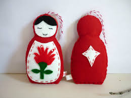 Russian Decoration For Christmas by Russian Doll Christmas Decorations U2013 Decoration Image Idea