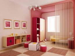 bedroom lovely girls room with canopy bed and white closet as