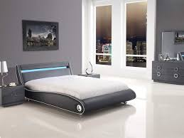 bedroom sets beautiful white black wood glass modern design