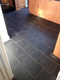Slate Floor Kitchen by Dull Slate Tiled Kitchen Dinning Room Brought Back To Life In