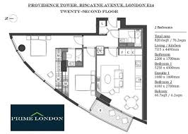 2 bedroom apartment for sale in providence tower canary wharf