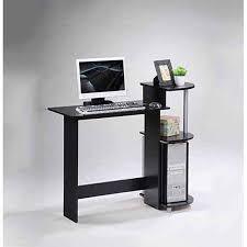 Compact Computer Desk Furinno 11181 Compact Computer Desk Walmart