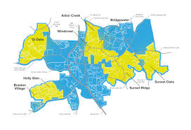 Coverage Map Sprint The Race For Fiber Holly Springs Neighborhoods Pre Order Demand Map