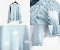 cloud sweater m i l k t e a s