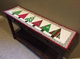 sew brainy christmas tree table runner loccie better homes