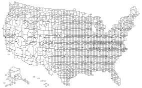 United States Map Without State Names by Command Line Cartography Part 3 U2013 Mike Bostock U2013 Medium