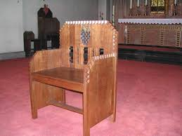 chaise d église le mobilier d église