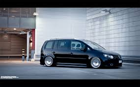 volkswagen gli stance clean simple loooow vw touran stance pinterest