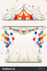 circus frame space text stock vector 83149786 shutterstock
