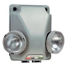 unit equipment emergency lighting lithonia lighting 6 volt navy gray 2 tone industrial emergency