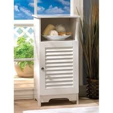 nassau white louvered spacesaver cabinet free shipping today