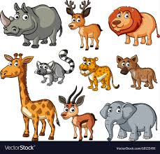 wild animals images Different kinds of wild animals royalty free vector image jpg