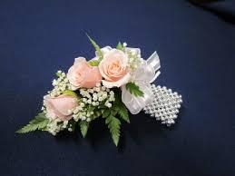 corsage bracelet corsage on silver bead bracelet 35 00 in severna park md