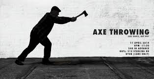 axe throwing like darts but not 10th edition