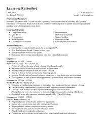 Core Skills Resume Salesperson Skills Resume Resume For Your Job Application