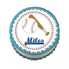 baseball cake topper edible images photo cakes cake stickers baseball edible image cake