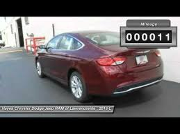 chrysler dodge jeep ram lawrenceville 2016 chrysler 200 lawrenceville ga l616097
