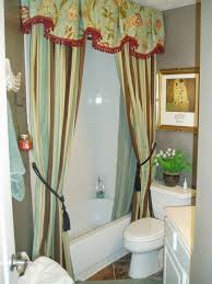 Custom Bathroom Shower Curtains My Small Guest Bathroom With Silver Walls And Custom Shower
