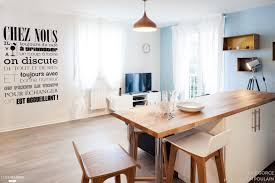 la cuisine dans le bain cet appartement de 32 m d un style scandinave est entièrement