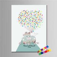 tree signing for wedding online shop customize wedding car thumbprint tree guestbook