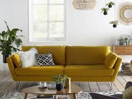 canape jaune cuir canap cuir jaune finest canap cuir noir relax electrique
