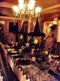 Dining Room Table Setting Ideas Spooky Halloween Dinner Party Halloween Parties Dinners And