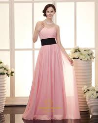 Pink And Black Bridesmaid Dresses Bridesmaid Dresses Pink Chiffon Wedding Short Dresses