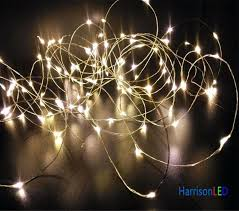 ultra thin wire led lights star string lights warm white ultra thin invisible silver copper