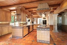 Mexican Kitchen Cabinets Kitchen With Flush U0026 Undermount Sink In Los Altos Hills Ca