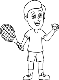 tennis ball coloring pages youtuf com