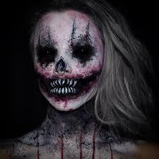 Creepiest Halloween Costumes 20 Scary Halloween Makeup Ideas Creepy Makeup