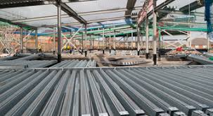 light gauge steel deck framing multideck structural steel building products kingspan ireland