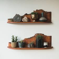 Wooden Shelf Diy by Best 25 Live Edge Wood Ideas On Pinterest Sliding Doors