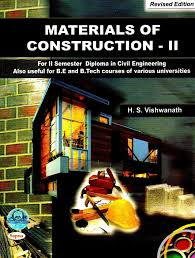 materials of construction ii for ii semester diploma in civil