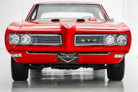 Pontiac Muscle Cars - 1968 pontiac gto 455 4 speed phs american dream machines