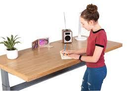 Sit Stand Desks by Classic Oak Sit Stand Desk Hiredesks