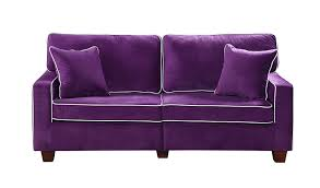 High Back Tufted Loveseat Furniture Purple Loveseat For Contemporary Lifestyle U2014 Threestems Com