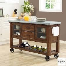 costco kitchen island bayside furnishings kitchen island costco uk