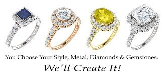 build your own ring online custom jewelry designer
