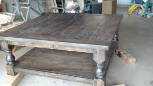 weathered pine coffee table ana white pretty massive coffee table diy projects gallery and grey