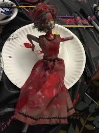 Zombie Barbie Halloween Costume Zombie Barbies Makerbridge