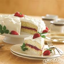 strawberry tres leches cake smucker u0027s